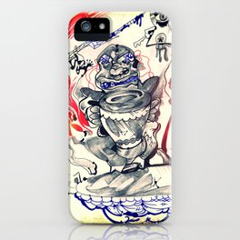 Beat of a Different Drum iPhone Case