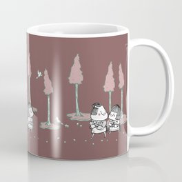 Hansel and Gretel - Red Coffee Mug