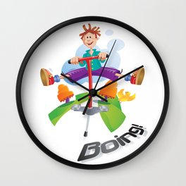 Boing Wall Clock