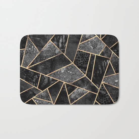 Black Stone 2 Bath Mat