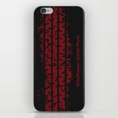 Death Proof in minimal art iPhone & iPod Skin