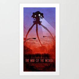 The War of the Worlds. (2005) VARIANT#1 Art Print