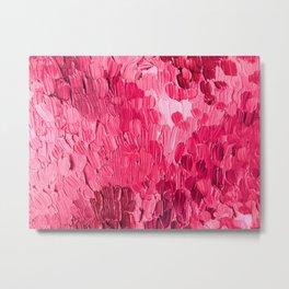 Cranberry Rain Metal Print