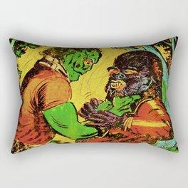 Teenage Troubles Rectangular Pillow