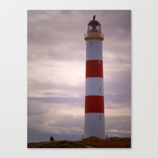 Tarbat Ness Lighthouse Canvas Print