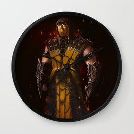 Scorpion mk game Wall Clock