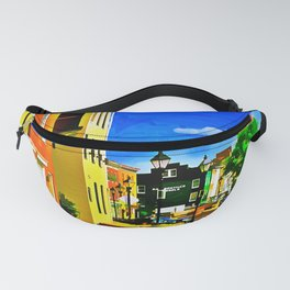 Fells Point Square, Baltimore, Maryland Fanny Pack