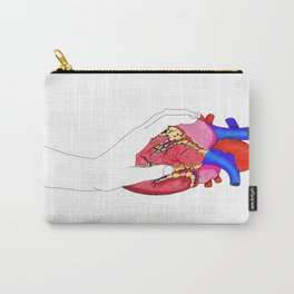 Anatomical Heart Art, Medical Illustration, Human Heart Carry-All Pouch