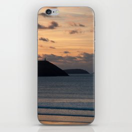 Evening Skies Over Polzeath iPhone Skin