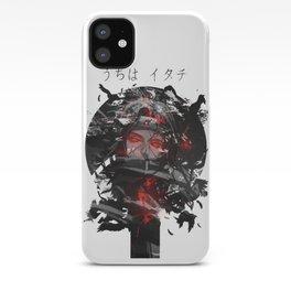 Uchiha Akatsuki Dark Monochrome iPhone Case