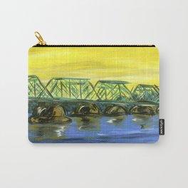 New Hope-Lambertville Bridge Carry-All Pouch