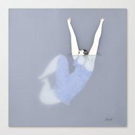 Dona d'aigua I Canvas Print