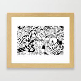 So what's on your mind? Framed Art Print