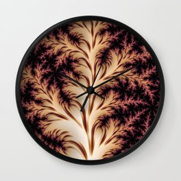 Fractal Fern Wall Clock