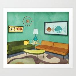 The Room 1962 Art Print
