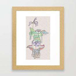 delusion Framed Art Print