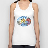 angel Tank Tops featuring Angel by Shelley Ylst Art