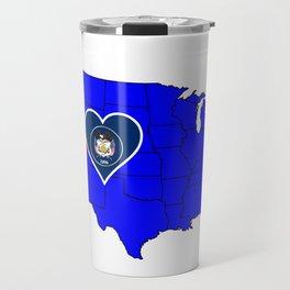 State of Utah Travel Mug