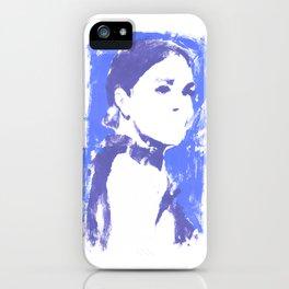 JM Blue iPhone Case