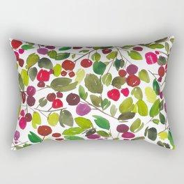 Holly Berry Rectangular Pillow