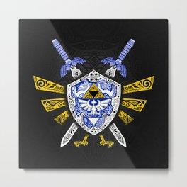 Heroes Legend - Zelda Metal Print