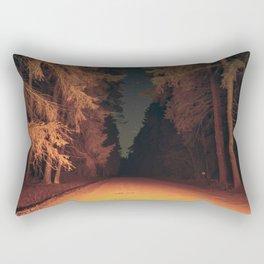 Serial Killer on his Way Home Rectangular Pillow