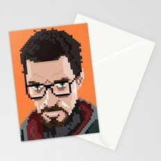 Gordon Freeman portrait Stationery Cards