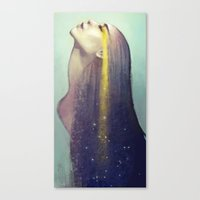 constellation Canvas Prints featuring Constellation by Anna Dittmann