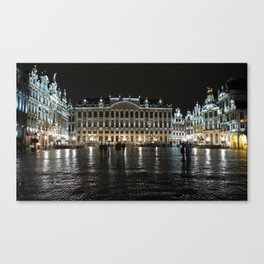 Shining Grand Place Canvas Print