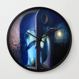 The rest of Euryale Wall Clock