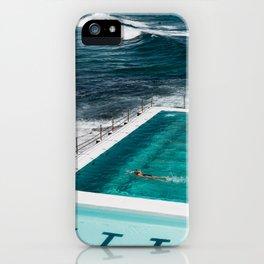 Bondi Icebergs Club I art print iPhone Case