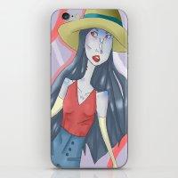 marceline iPhone & iPod Skins featuring marceline!! by clairen0vak