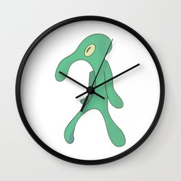 Transparent Bold and Brash Wall Clock
