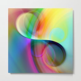 color whirl -30- Metal Print