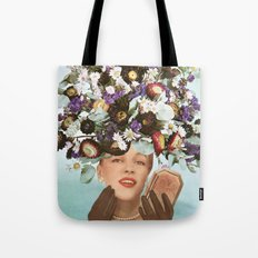 Floral Fashions III Tote Bag