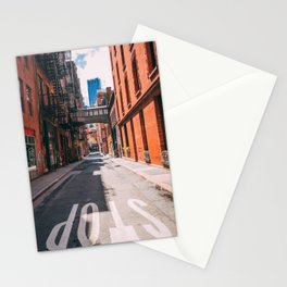 Air passage in New York City Stationery Cards