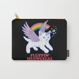 Fluffin' Meowgical Carry-All Pouch