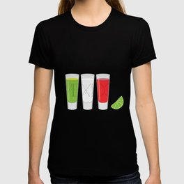 Mexico Tequila Shots T-shirt