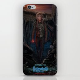 Jareth Is Back-Return To Labyrinth iPhone Skin