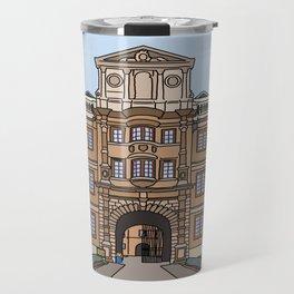 Cambridge struggles: Clare College Travel Mug