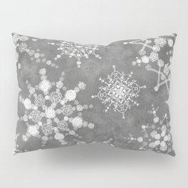 Winter Snowflakes Pillow Sham