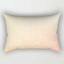Modern abstract orange summer ombre pattern Rectangular Pillow