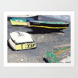 Rex I Art Print