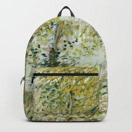 River Bank in Springtime Backpack