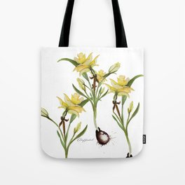Daffodil- watercolor  Tote Bag
