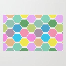 hexagon (4) Rug