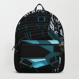 WhitelightDj Cyberpunk Backpack