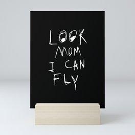 Look Mom I Can Fly Travis Mini Art Print