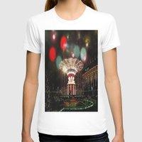 copenhagen T-shirts featuring Tivoli Gardens Copenhagen by Created by Eleni