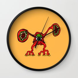 Are you ill? Check your Germs! Mumps Wall Clock